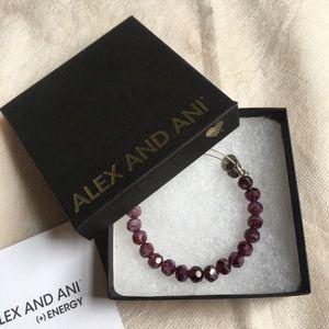 Alex & Ani Purple Crystal bracelet/bangle